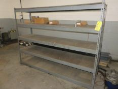 (4) SECTIONS OF LIGHT-DUTY RACKING (ONE-72 IN,, AND THREE-66 IN. UPRIGHTS)