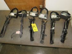 (6) MAGNIFYING BENCH LAMPS (NO CLAMPS)