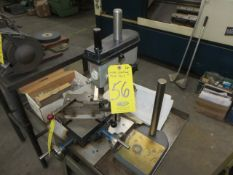 SERVO MDL. 7000 PRECISION DRILL PRESS WITH METAL STAND (COMPOUND TABLE NOT INCLUDED)