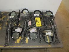 (7) MAGNIFYING BENCH LAMPS (NO CLAMPS)
