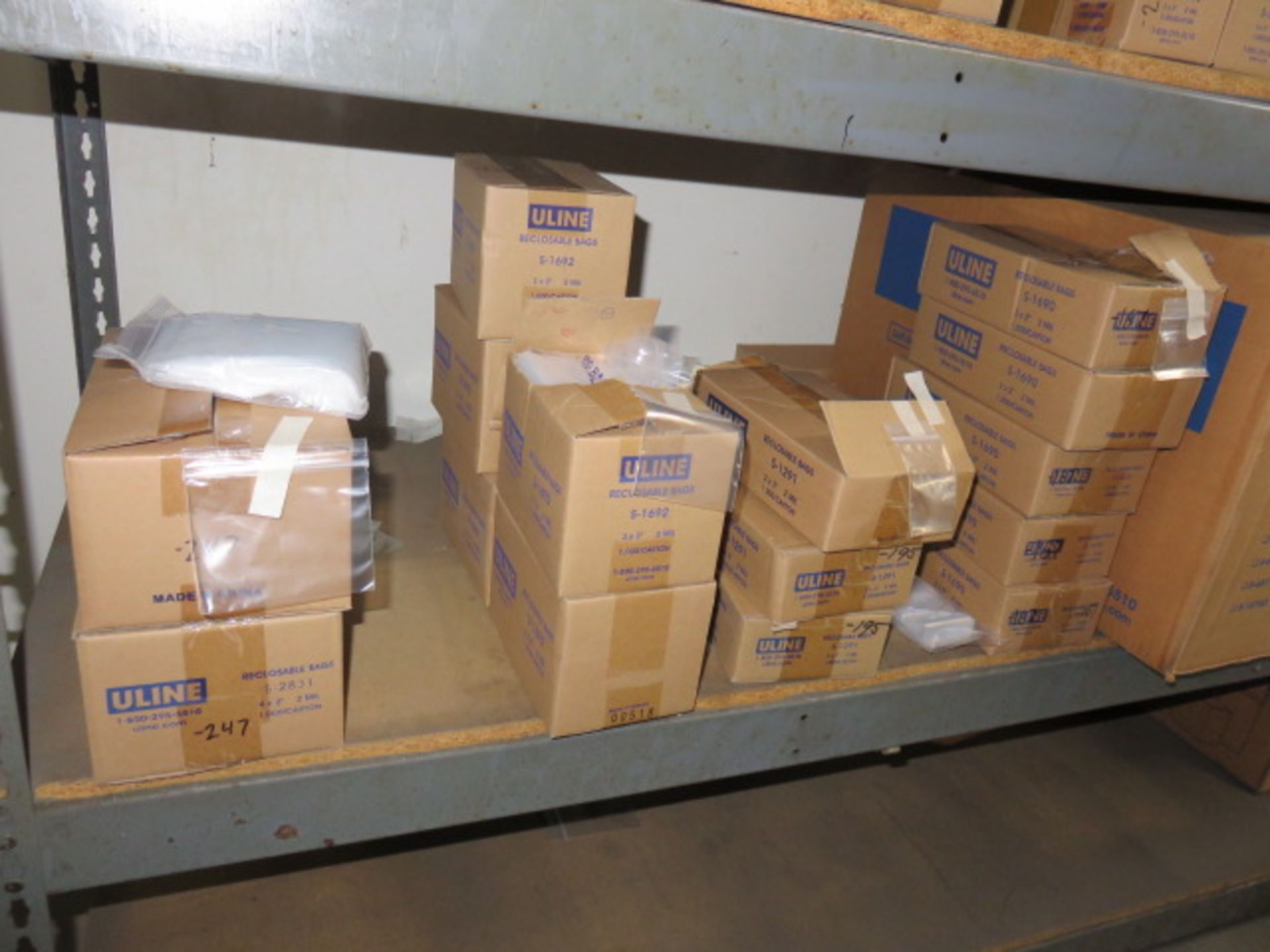KRAFT REVERSE TUCK CARTONS, POLY & BUBBLE BAGS - Image 6 of 9