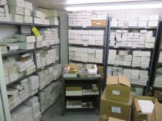 (5) 36 IN. ADJ. METAL SHELVING UNITS (CONTENTS NOT INCLUDED)
