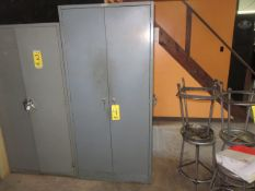 DBL. DOOR SUPPLY CABINET WITH REINFORCED SHELVES
