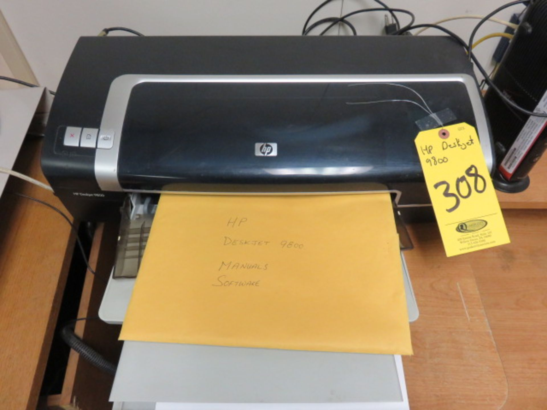 HP DESKJET 9800 WIDE FORMAT PRINTER