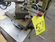 8 IN. COMPOUND SLIDE TABLE WITH FEED UNIT