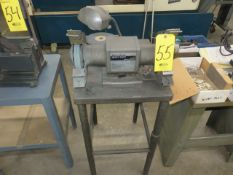 BLACK AND DECKER 8 IN. H.D. DBL.END BENCH GRINDER WITH STAND