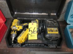 DEWALT DCD790 CORDLESS DRILL DRIVER WITH CHARGER AND BATTERIES