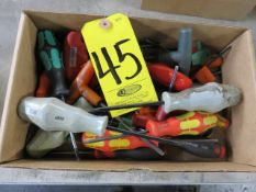 ASSORTED STAR AND SOCKET WRENCHES