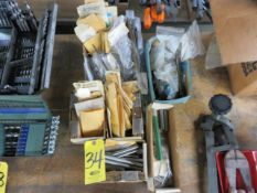 ASSORTED DRILL BLANKS AND INJECTOR PINS