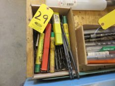 ASSORTED EXTENSION AND HIGH-SPEED DRILL BITS