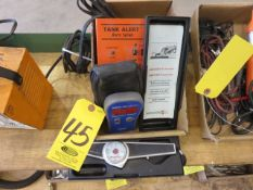 SUPCO MFD10 CAPACITOR TESTER, TANK ALERT ALARM SYSTEM AND MIKROTEST IV MAGNETIC COATING THICKNESS GA