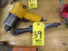 INGERSOLL-RAND 1/2 IN. IMPACT AND MDL. 106 AIR RATCHET
