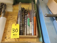 ASSORTED AUGER AND MASONRY DRILL BITS