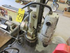 BUX MAGNETIC DRILL WITH ROCKWELL POWER UNIT