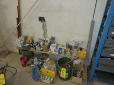 ASSORTED PLUMBING AND ELECTRICAL PARTS