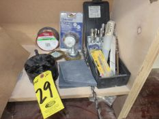 HOLE SAWS, DRILLS, WIRE BRUSHES AND WELDING WIRE
