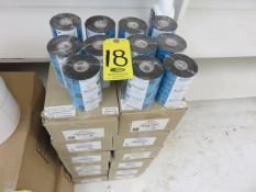 (84) ZEBRA PERFORMANCE 5319 WAX RIBBONS