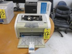 HP LASERJET 1020 WITH CARTRIDGE