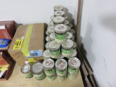APPROX. (60) CANS OF WOOD FILLERS
