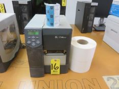 ZEBRA Z4M+ BARCODE PRINTER WITH TAPE AND LABELS