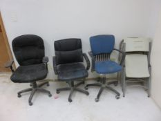 OFFICE AND FOLDING CHAIRS