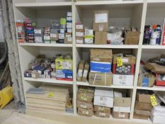 (5) BINS OF ASST. FASTENERS AND HARDWARE