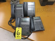 (4) NEC IP7WW-12TXH HANDSETS