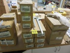 (9) BOXES OF 12 IN. AND 16 IN. ANOCHROME BRACKETS