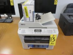 BROTHER MFC-7360N MULTI-FUNCTION COPIER, PRINTER, SCANNER FAX WITH CARTRIDGE