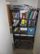 (2) 9-COMPARTMENT CUBICLE STORAGE FRAMES (CONTENTS NOT INCLUDED)