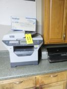 BROTHER MFC-8480DN ALL-IN-ONE, HP PHOTOSMART PRO B8350 PRINTER AND PANASONIC KS-FHD331 FAX/COPIER