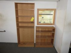 (2) BOOKCASES (ON LOFT - MUST COME DOWN STEPS)