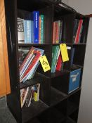 ASSORTED MANUALS IN STORAGE COMPARTMENT (STORAGE UNIT EXCLUDED)
