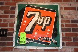 Memorabilia; 7up sign