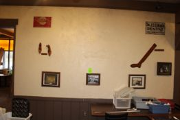 Memorabilia; Pretzels Sign, Shoe Forms, Dry Goods, DH Martin, Early 1900's, Switch Board Photo,