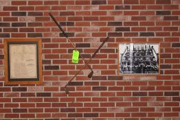 Memorabilia: Plan of Spring Garden, Golf Clubs, 1926 Elizabethtown Football Champions