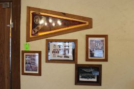Memorabilia: 1937 Pennant, Hershey Bears Photo, Let's Go Bears Towel, 2008-2009 Team Photo, 2009-