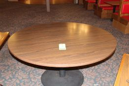 "60"" Diam. Dinning Table"