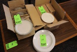 "New In Box 9"" Plates (23), New In Box 7 1/8"" Plates (32), 11 1/2"" Bowl (6)"