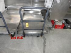 """PLASTIC TRUCK WITH S/S DECK, 60"""""""