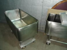 Heavy Duty Stainless Steel Cart on Casters