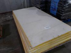 (16) Densglass Gold Exterior Sheathing5/8 Fireguard Type X