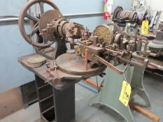 R.A. Lienhard Suisse Brocading Machine Model 38062 S/N 774 New 1914 Location: 40 John Williams St