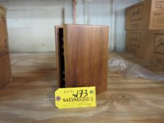 Lot Approximately (15) Hinged Wood Boxes Unknown Quantity in Boxes Location: 40 John Williams St