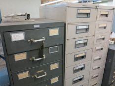Lot (3) Sliding Draw Cabinets Location: 40 John Williams St