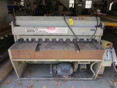 Edwards 10 GA Tru Cut Power Shear Model 3-28/1250 DD, S/N 773790802