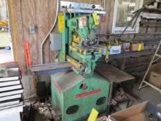 Unihydro Ironworker Model 42-14 S/N 3P1716 with Tooling