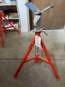 Ridgid model VJ-99 V head pipe stand