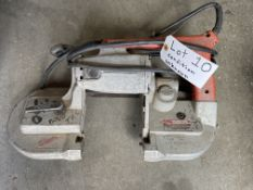Milwaukee portable band saw, condition unknown