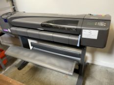 Hewlett Packard Design Jet 800 PS Plotter